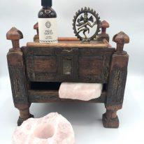 Vintage Indian Meditation Altar