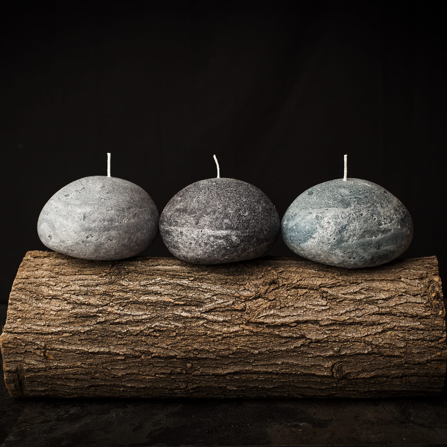 Boulder Stone Candles