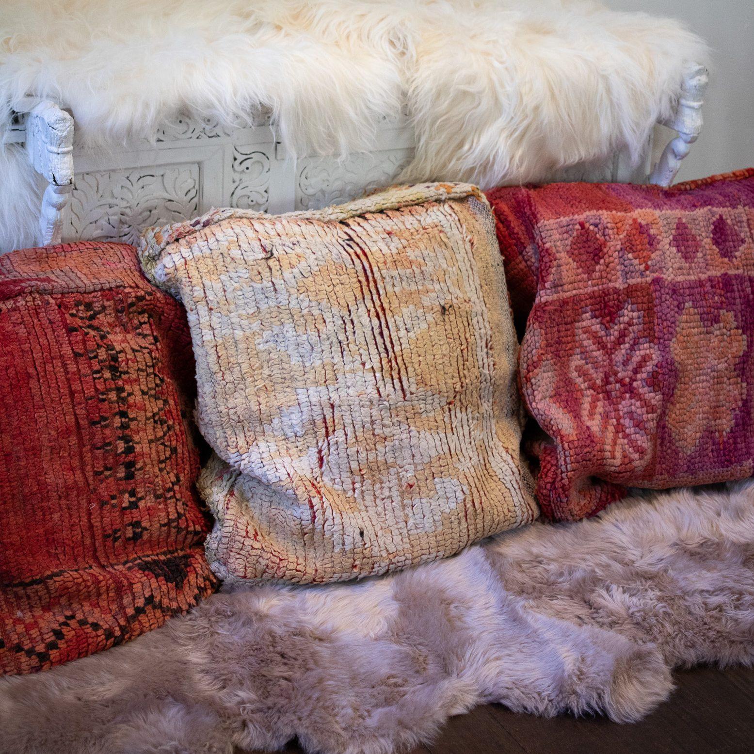 Moroccan Boujad Meditation Floor Cushion Covers
