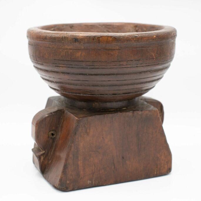 Vintage Indian Seeder Candle Holder 1