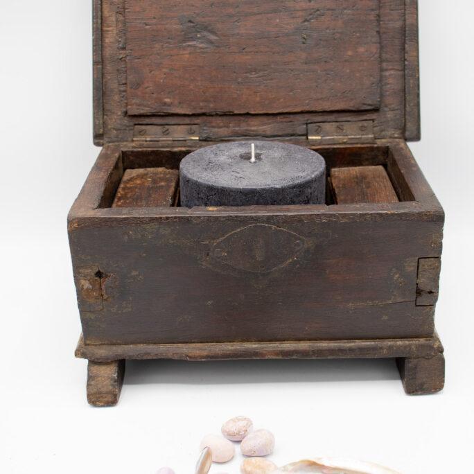 Beautiful Antique Wooden Meditation Box
