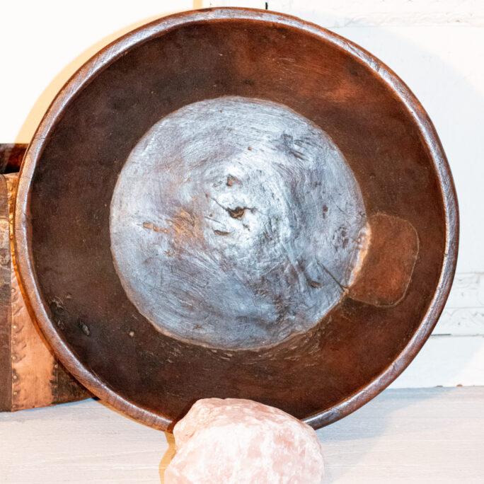 Antique Timber Bowl / Altar Tray