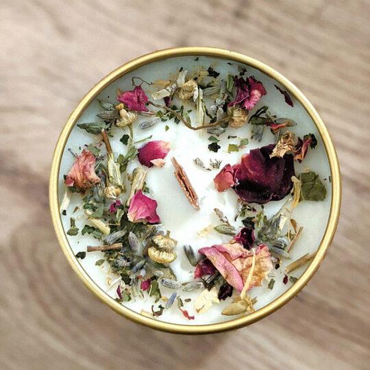 Botanical Candle Tin