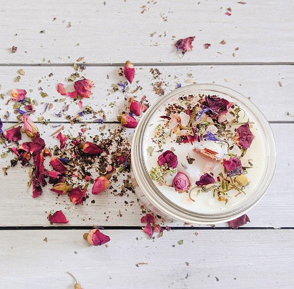 Botanical Candle Glass Jar