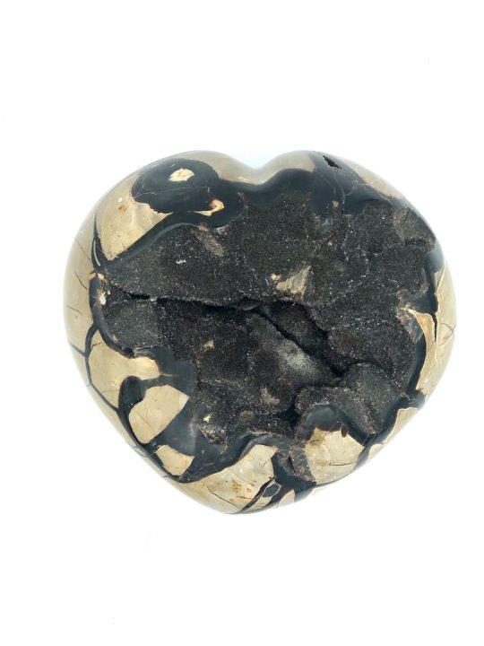 Huge Heart Shaped Septarian Geode