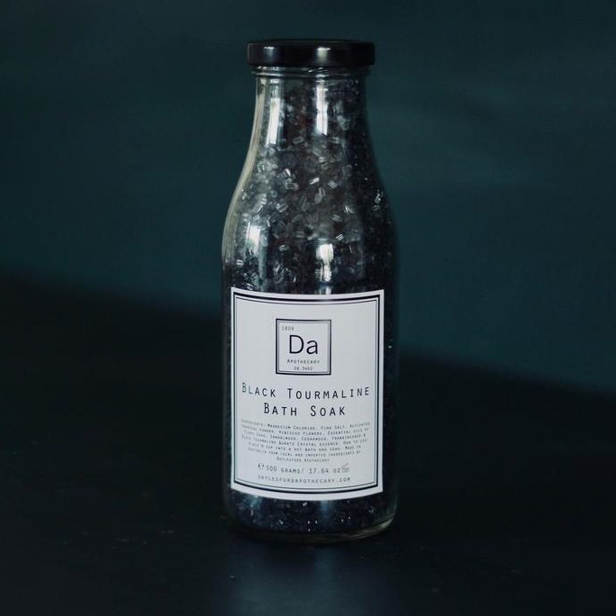 Black Tourmaline Bath Soak