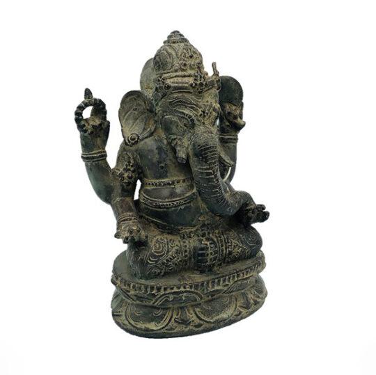 Antique Bronze Ganesh Statue